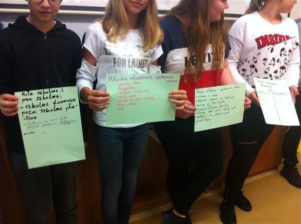 Spotkania edukacyjno - informacyjne z młodzieżą