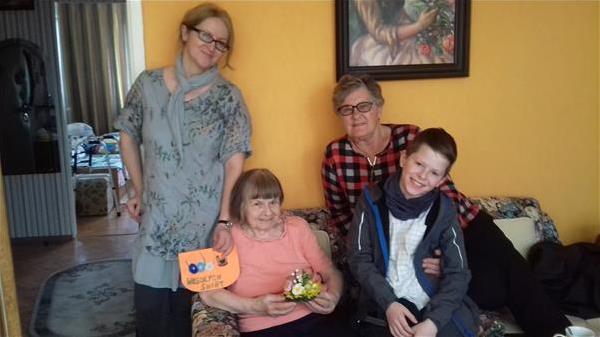 Senior dla Seniora - odwiedziny